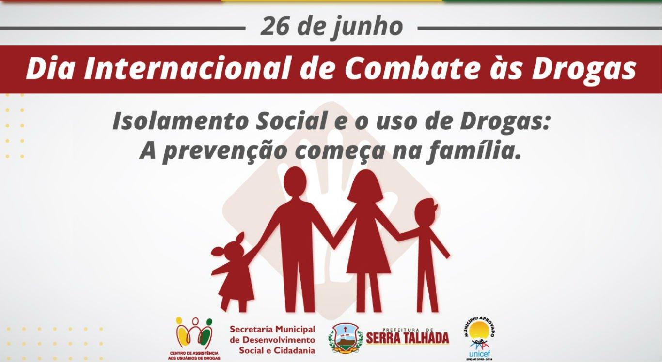 Campanha da Prefeitura de Serra Talhada combate as drogas