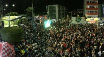 Shows do Palco Prefeitura reúne um grande público no Natal de Garanhuns