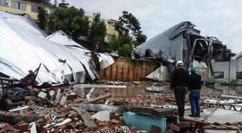 O ciclone bomba causou mortes e desastres na região Sul do país