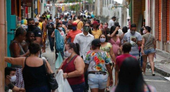 Pernambuco ultrapassa 59 mil casos de coronavírus e soma 4.894 mortes