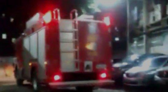 Hospital no Recife tem explosão de transformadores e vazamento de gás