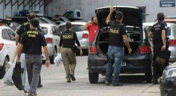 Suspeito foi levado para a delegacia e encaminhado ao presídio