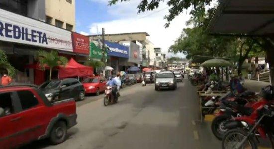 Comércio de Palmares, na Zona da Mata Sul
