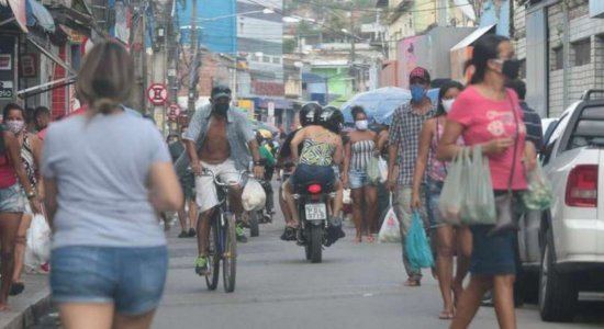 Letalidade do novo coronavírus é maior em bairros mais pobres do Recife