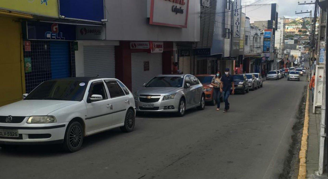 Comércio de Garanhuns estava tranquilo; por volta das 9h30, algumas lojas continuavam fechadas