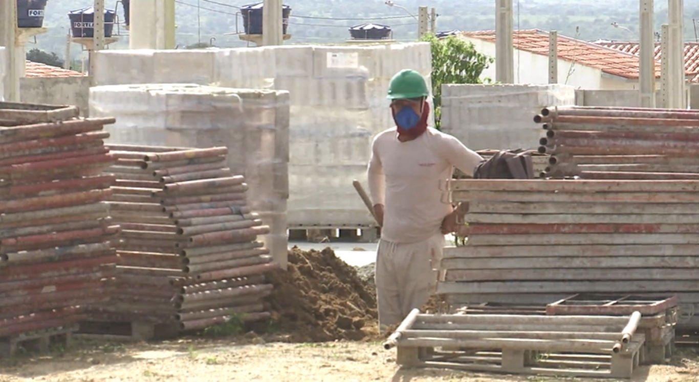 Construção civil atua com 100% da capacidade em Caruaru