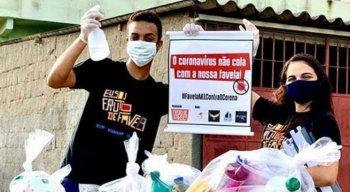 Projeto Fruto de Favela está conscientizando comunidades sobre o novo coronavírus