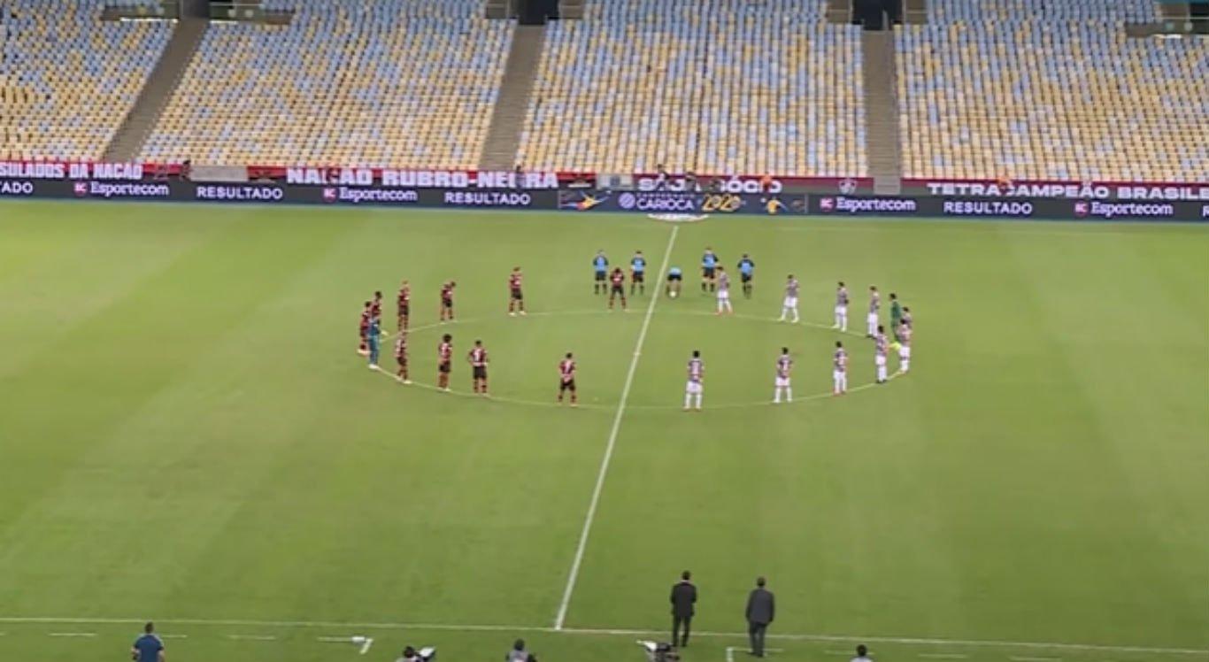 Partida entre Flamengo e Fluminense será exibida pelo SBT