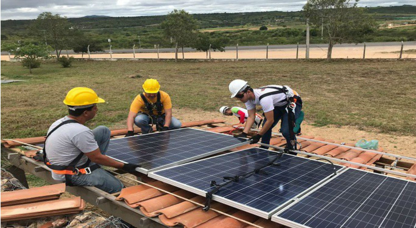 Usina de energia solar do IFPE Pesqueira