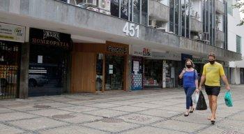 Empresas fecharam por causa da pandemia