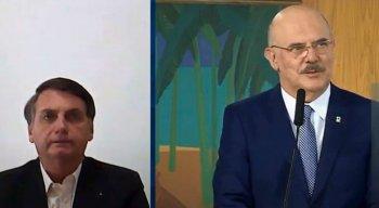 Presidente Bolsonaro participou da cerimônia por videoconferência