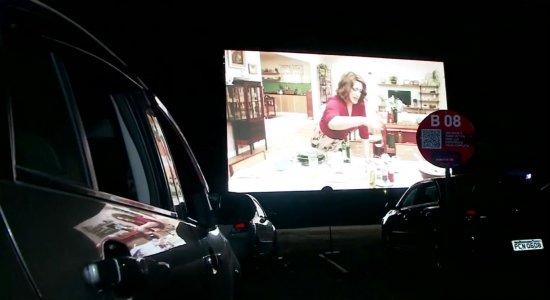 Cinema Drive-in estreia no Recife e tem aprovação do público