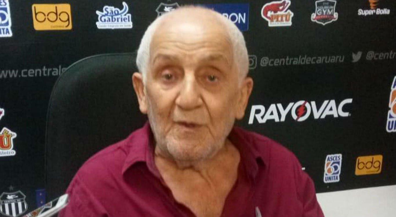 Genésio Guedes era torcedor do Central