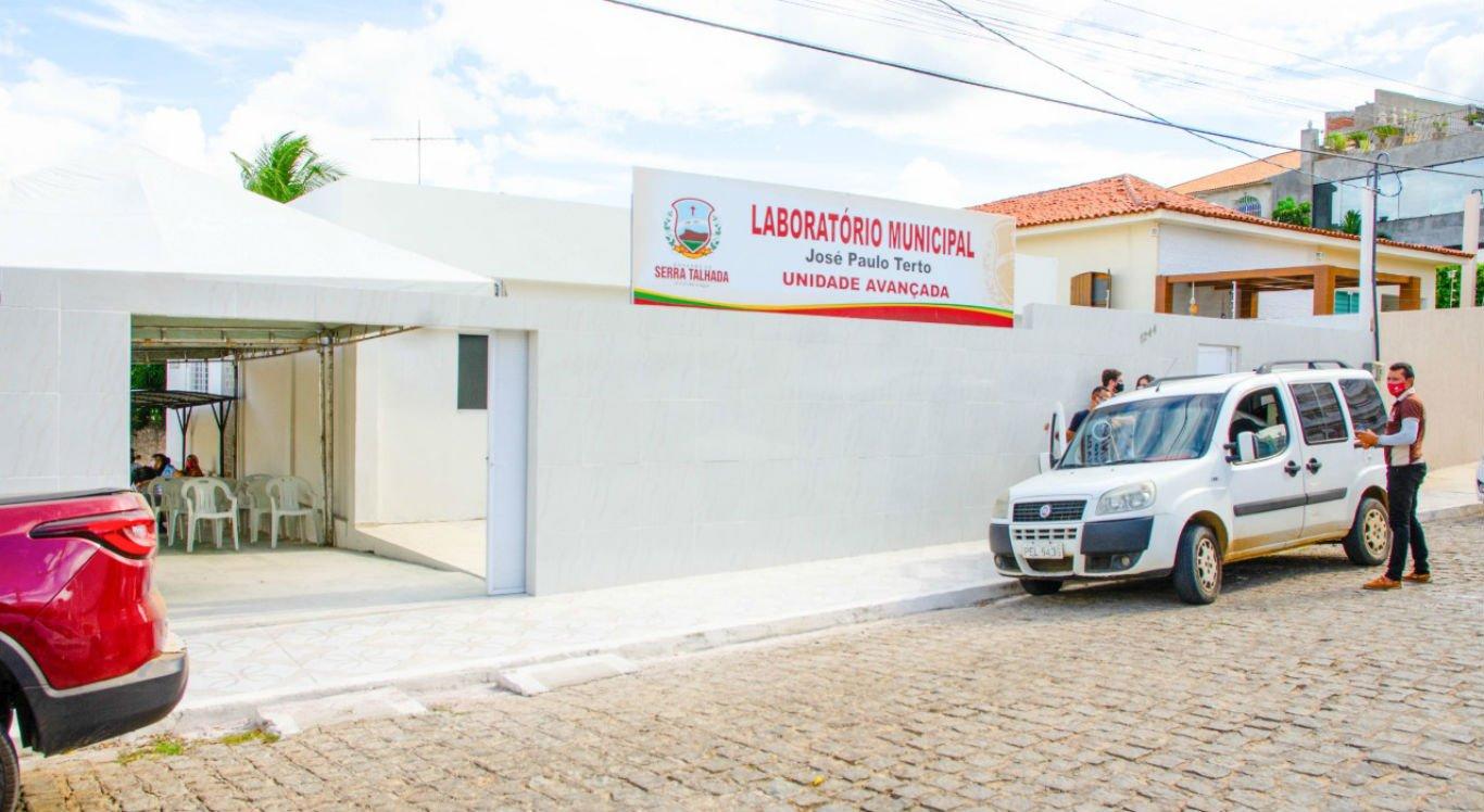 Entrega da unidade avançada do Laboratório Municipal