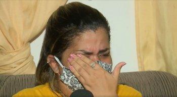 A atendente Tatiane Dias, de 29 anos, tem uma inflamação em um dos seios e não conseguiu, até o momento, fazer o tratamento na rede pública de saúde.