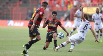 Sport e Santa Cruz se enfrentaram em 2020 pela Copa do Nordeste. O Leão venceu por 1 x 0.