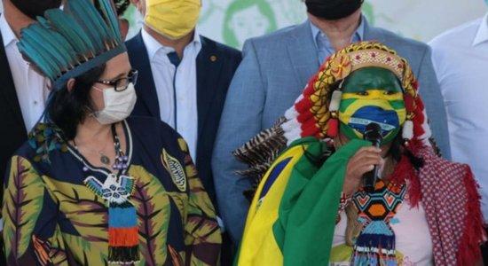 Governo entrega 5 mil cestas de alimentos a indígenas do Maranhão