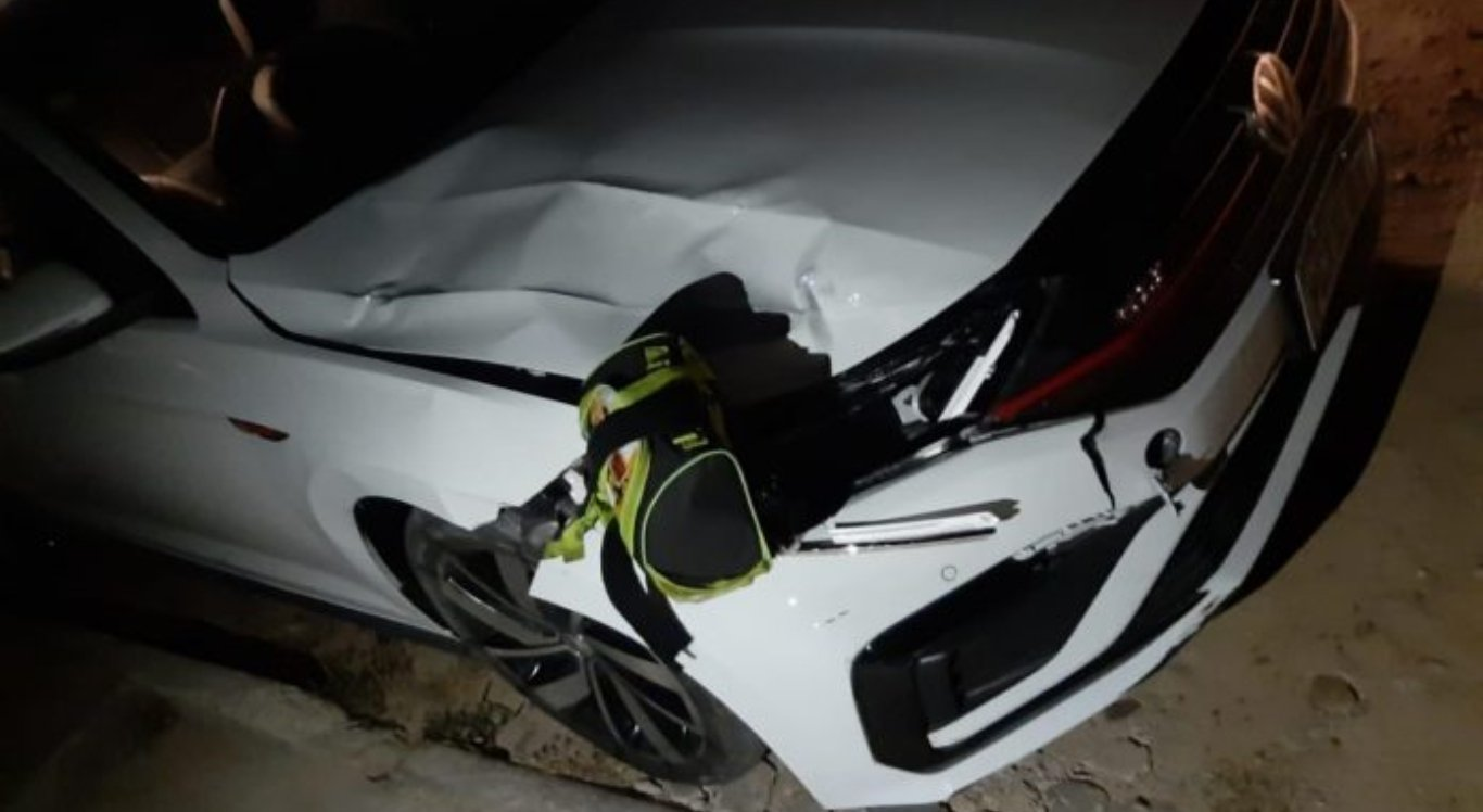 Criança foi atropelada por carro