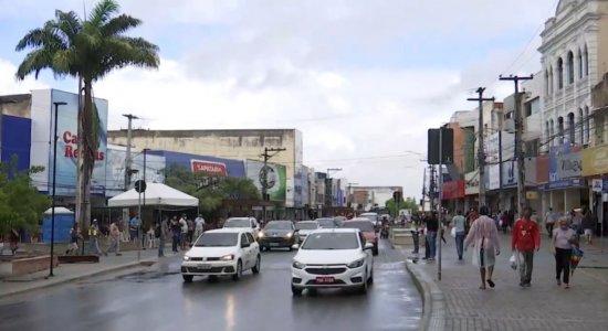 Movimentação no centro de Caruaru