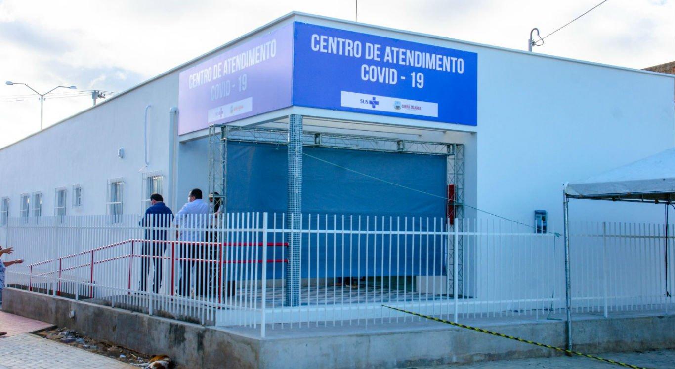 Centro de Atendimento da Covid-19 em Serra Talhada