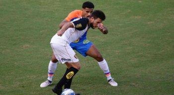 O duelo de leões pela Copa do Nordeste aconteceu no estádio Barradão.