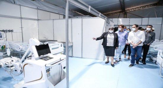Pernambuco abre 258 novo leitos da covid-19 no Sertão