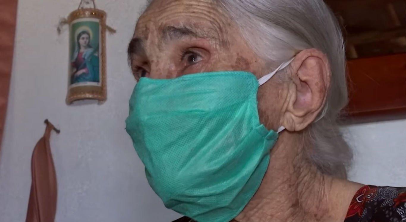 Dona Maria Joana, 92 anos, tem mais de 100 netos, bisnetos e tataranetos