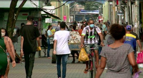 Comércio na Região Metropolitana do Recife começou a funcionar das 10h às 20h