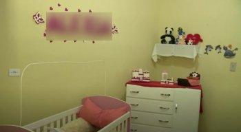O quarto do bebê já estava pronto e todo decorado