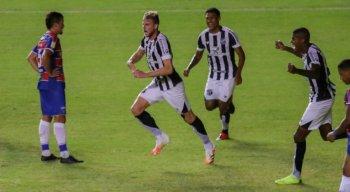 Klaus marcou para a vitória do Ceará, contra o Fortaleza