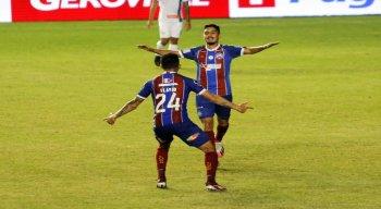 Bahia bateu o confiança com gol de Danielzinho