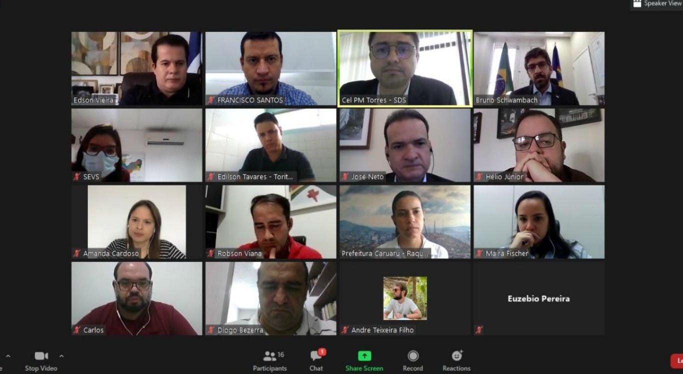 Reunião discute reabertura de atividades econômicas