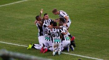 Ceará bateu o Bahia por 3x1 no jogo de ida da final da Copa do Nordeste 2020