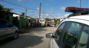 A polícia esteve no local do homicídio e realizou as investigações iniciais