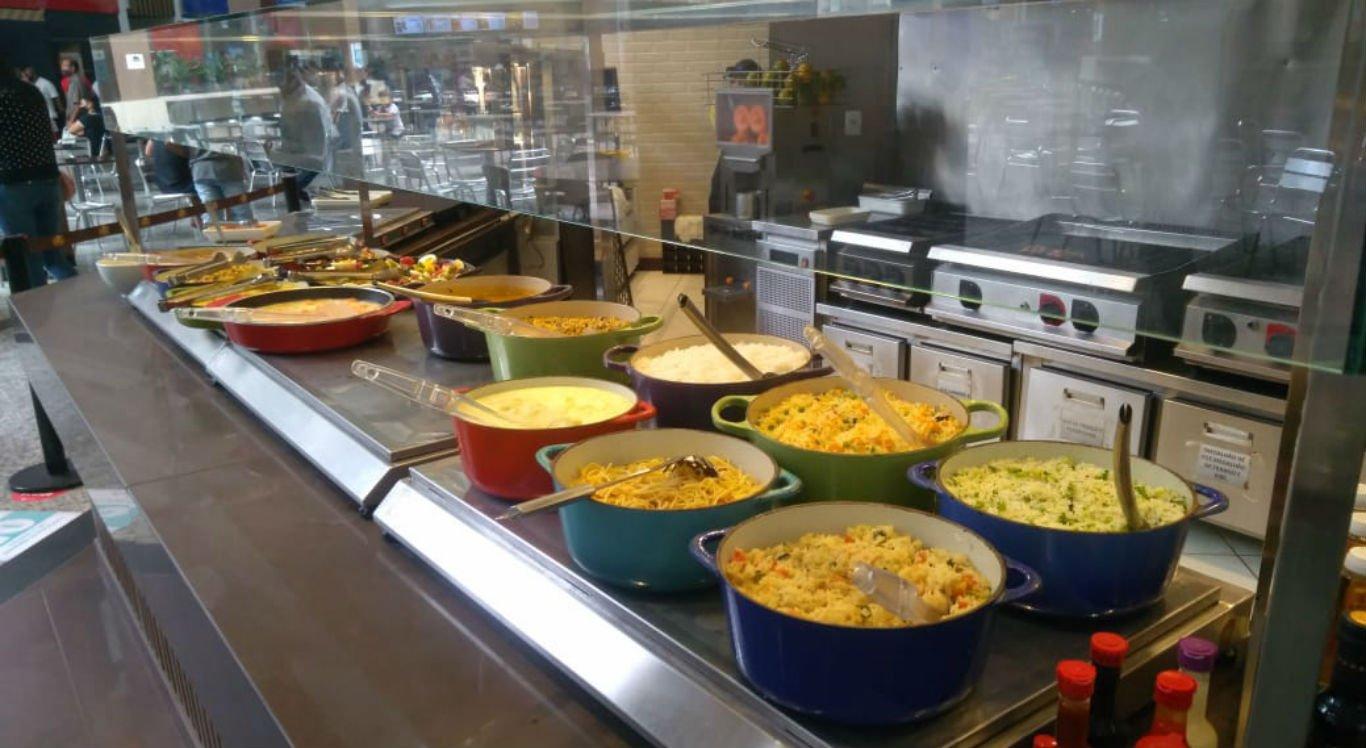 Self-service do Dghust Grill, no Caruaru Shopping