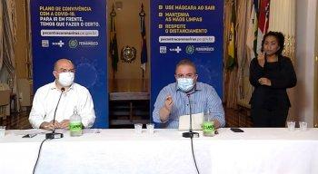 Coletiva de imprensa do Governo de Pernambuco nesta terça-feira (4)