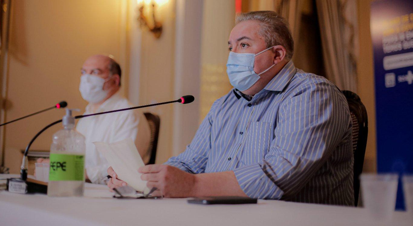 Secretário Estadual de Saúde, André Longo, comentou a situação de Araripina e Ouricuri em relação ao novo coronavírus