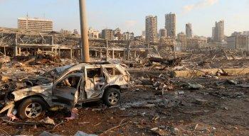 A explosão aconteceu nesta terça-feira (4), na região portuária de Beirute