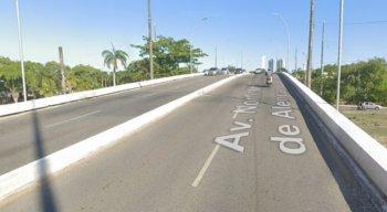Viaduto da Avenida Norte, na Zona Norte do Recife, será um dos locais das obras