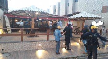 O bar e restaurante foi interditado por poluição sonora em Olinda