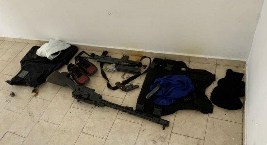 Material apreendido pela Polícia Federal na Operação Capitá