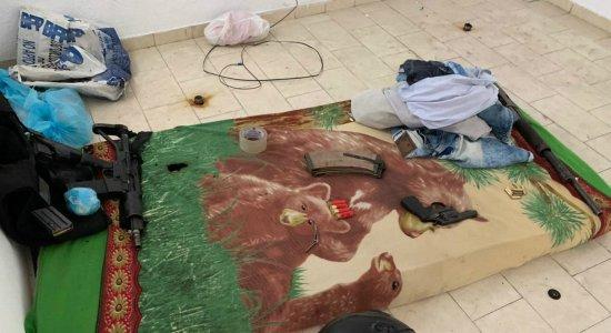 Quadrilha de assalto a bancos é encontrada escondida dentro de casa em Petrolina