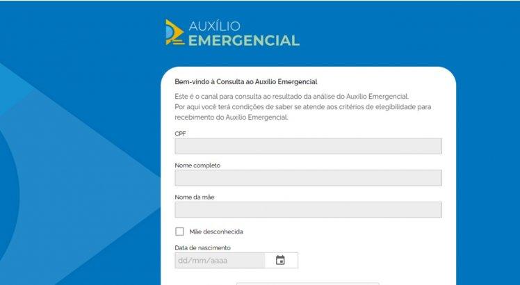 Contestação do auxílio emergencial negado pode ser feita via Dataprev
