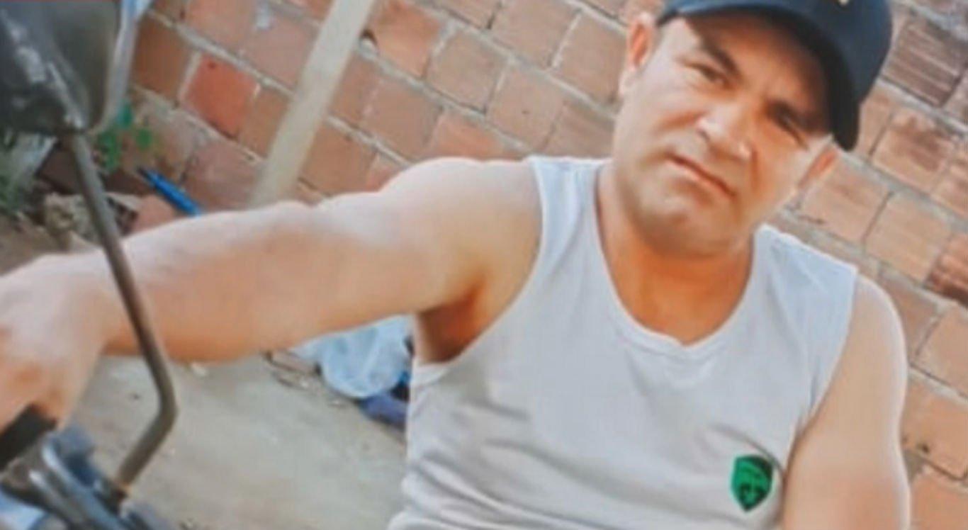 Pintor Cristiano Alex da Silva, 41 anos, foi morto com tiro na cabeça