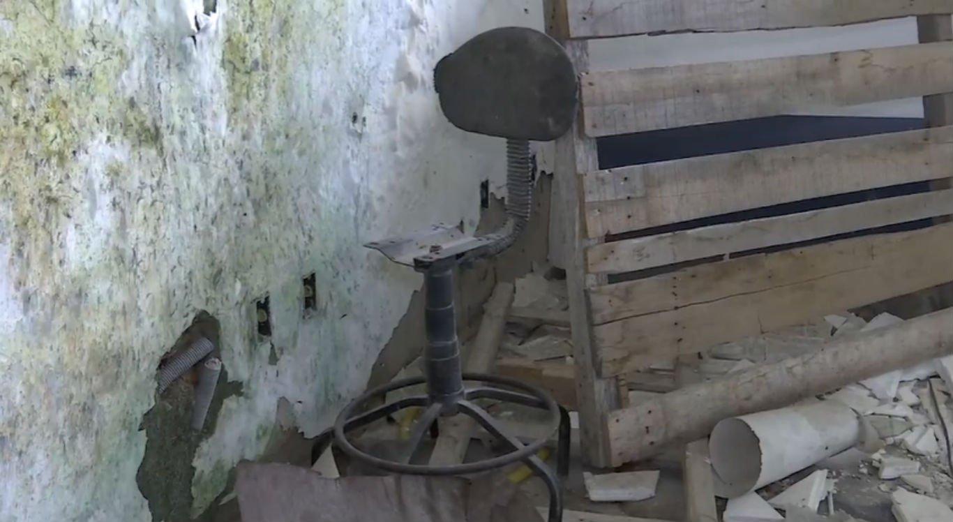 Vários objetos da estrutura foram roubados