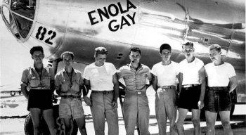 Aeronave B-29, apelidada de Enola Gay, foi a responsável por jogar a bomba em Hiroshima