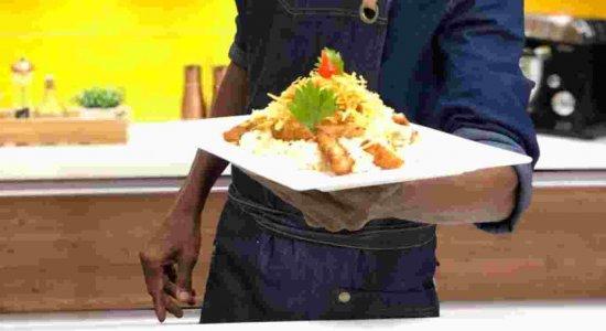 Receita de Risoto Crocante, com o chef Rivandro França, no Sabor da Gente