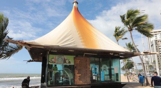 Projeto de requalificação dos quiosques de Boa Viagem é contestado por arquitetos