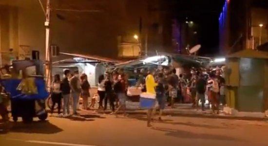 Homem é morto com vários tiros na Avenida Dantas Barreto, no Recife