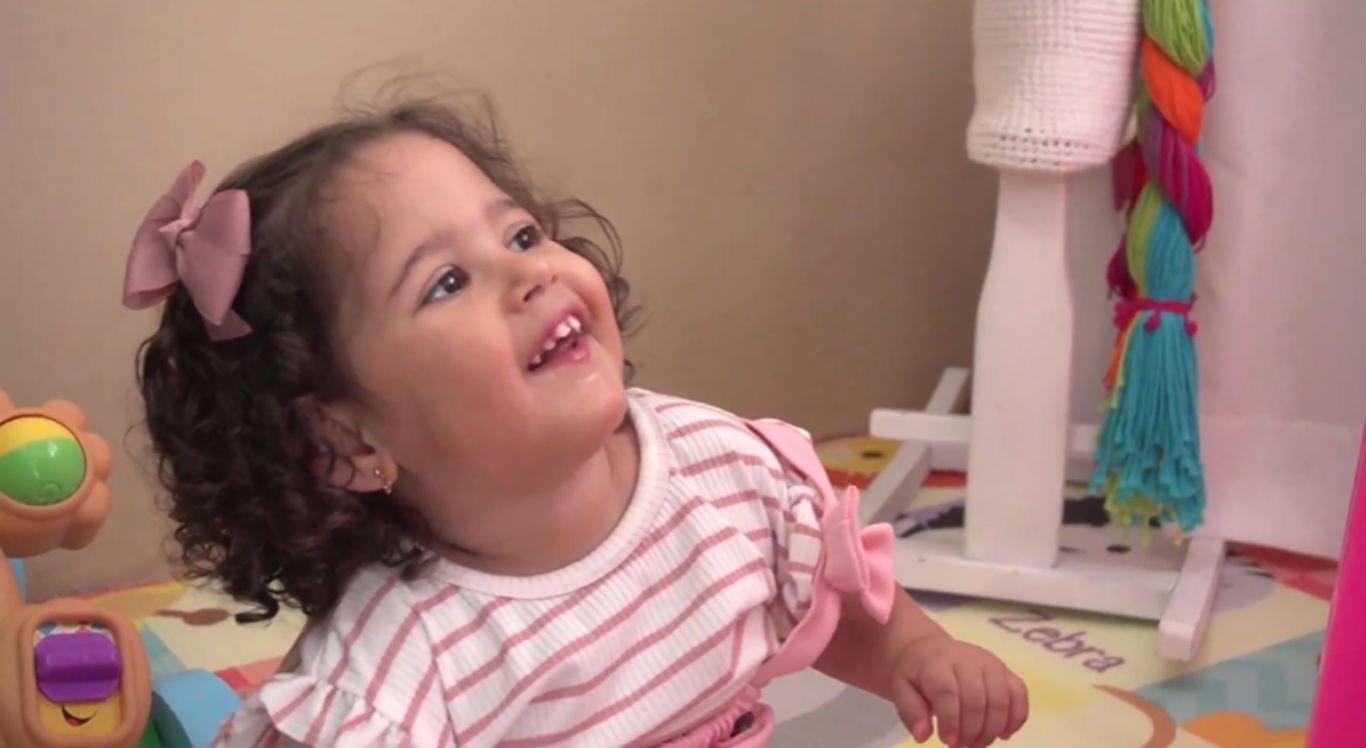 Maria Júlia passou por vários problemas de saúde e segue lutando
